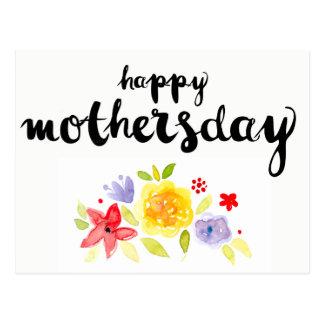 oziazによるはっきりしたで幸せな母の日 ポストカード