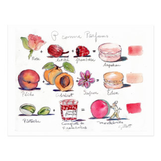 Pのcomme Parfum Macaron ポストカード
