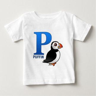 Pはツノメドリのためです ベビーTシャツ