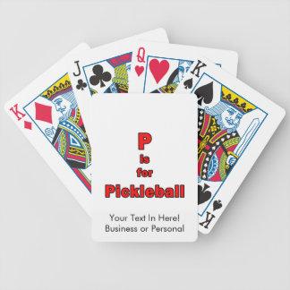 pはpickleball赤いblack.pngのためです バイスクルトランプ