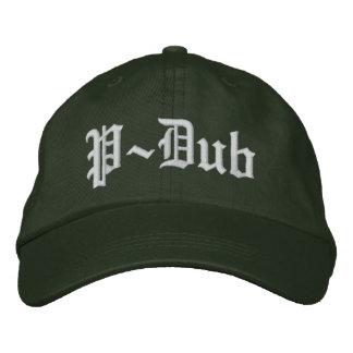 PダビングのOldeの英国のスタイルのコンプトン帽子 刺繍入りキャップ