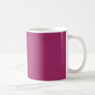 P29調和的に楽観的なマゼンタのピンク色 コーヒーマグカップ