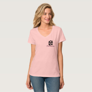 P3ペット着席サービス72marketing vneckのワイシャツ tシャツ