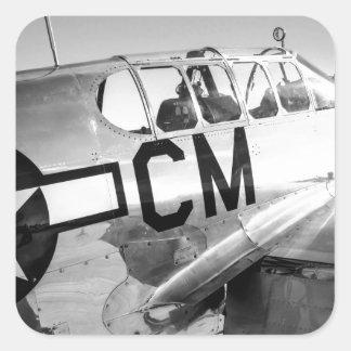 P51CのムスタングWWIIの戦闘機 スクエアシール