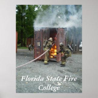 P6300063のフロリダの州の火の大学 ポスター