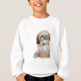 (p)シーズー(犬) Tzu -舌を搭載する… スウェットシャツ
