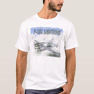 P-38Lの稲妻 Tシャツ