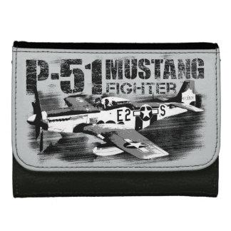 P-51ムスタングの中型の革財布