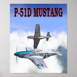 P-51ムスタングポスター ポスター