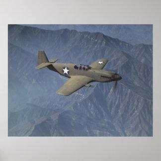 P-51ムスタング ポスター