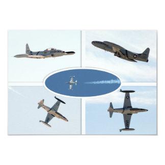 P-80流星5の飛行機セット カード