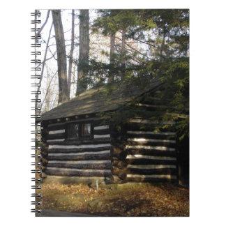 Paのグランドキャニオンの小屋-レオナルドハリスンPk ノートブック