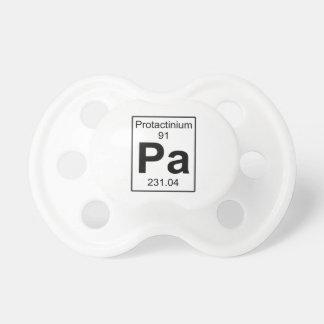 Pa -プロトアクチニウム おしゃぶり