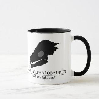 Pachycephalosaurusのスカル マグカップ