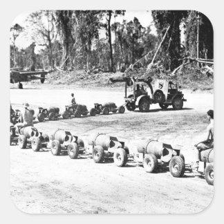 Pacific_Warの高度のイメージで扱う爆弾 スクエアシール