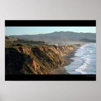 Pacificaの海岸 ポスター