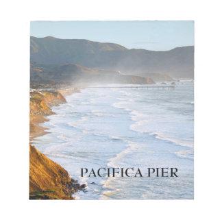 Pacifica桟橋のノート ノートパッド