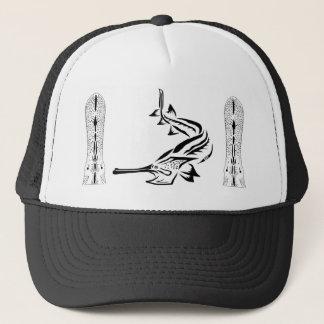 Paddlefish及び演壇のデザイン キャップ