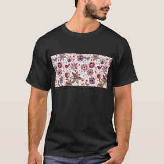 padrão comのpassaros eフローレス島 tシャツ