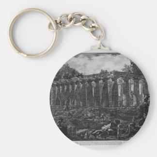 Paestum市の寺院の別の眺め、 キーホルダー