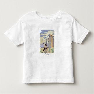 Paestum 1924年(pochoirのプリント) トドラーTシャツ