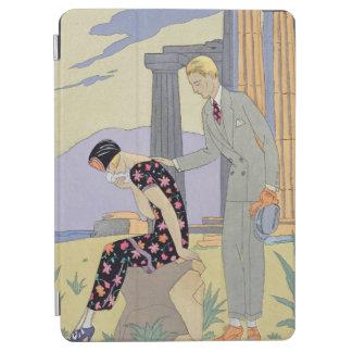 Paestum 1924年(pochoirのプリント) iPad air カバー