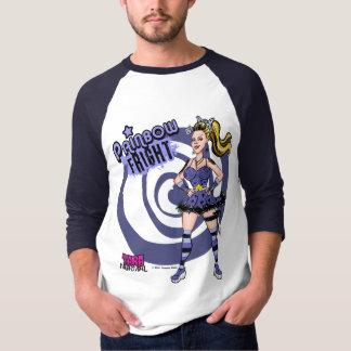 Painbowの恐怖のReglanのワイシャツ Tシャツ