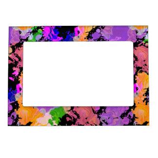Paint Splatter Print Magnetic Fridge Photo Frame マグネットフレーム