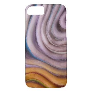 painted swirl abstract iPhone 8/7ケース