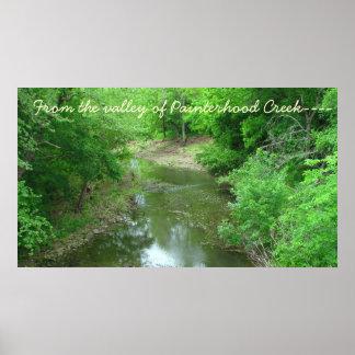 Painterhoodの入り江の谷から---- ポスター