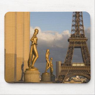 Palais de Chaillot、パリからのエッフェル塔、 マウスパッド