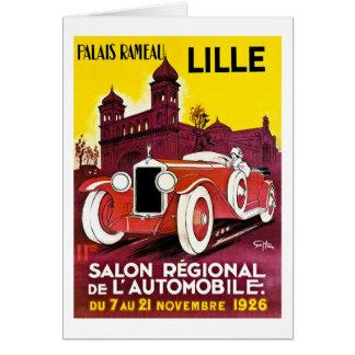 Palais Rameau -リール-自動車広告- 1926年 カード