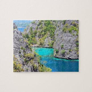 Palawanの石灰岩の崖 ジグソーパズル