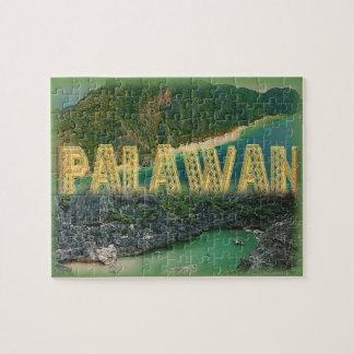 """Palawan """"世界の最も最高のな島"""" ジグソーパズル"""