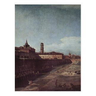 Palazzoの庭からのトゥーリンの眺め ポストカード