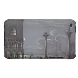 Palazzo Ducaleおよび2 Coluの夜の場面 Case-Mate iPod Touch ケース