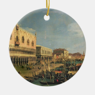 Palazzo DucaleおよびRivaのdegli Schiavoni、Venic セラミックオーナメント