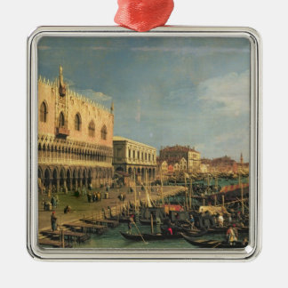 Palazzo DucaleおよびRivaのdegli Schiavoni、Venic メタルオーナメント