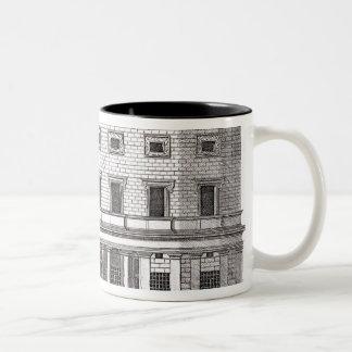 Palazzo Massimiのallaバエの正面の眺め、 ツートーンマグカップ