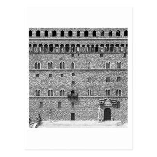 Palazzo Vecchio、フィレンツェ ポストカード