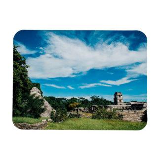Palenqueのマヤの台なし マグネット