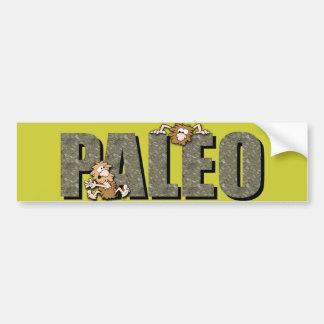 Paleoの穴居人 バンパーステッカー