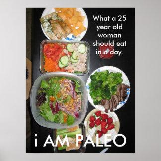Paleoの食糧 ポスター