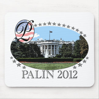 Palinのホワイトハウス2012年 マウスパッド