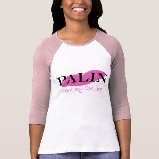 Palinの口紅 Tシャツ
