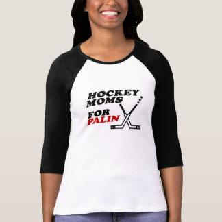 PalinのTシャツのためのホッケーのお母さん Tシャツ