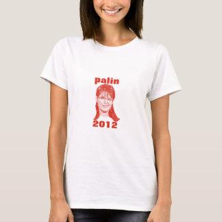 Palin 2012年の(まばたきの)女性ベビードールのティー tシャツ