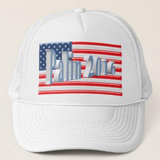 PALIN 2016の帽子、淡いブルー3Dの古い栄光 キャップ