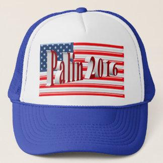 PALIN 2016の帽子、赤い3Dの古い栄光 キャップ