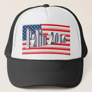 PALIN 2016の帽子、青灰色3Dの古い栄光 キャップ